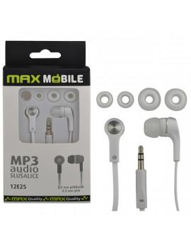 Max Mobile MP3 fehér fülhallgató