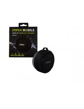 Max Mobile Mini Bluetooth fekete hangszóró és telefon kihangosító