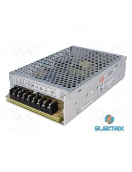 MEAN WELL AD-55A 13,8VDC 3,5A ipari szerelőlapra szerelhető szünetmentes tápegység