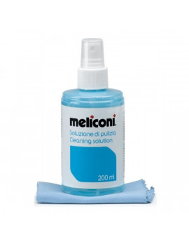 Meliconi C 200 képernyő tisztító folyadék 200ml és mikroszálas törlőkendő