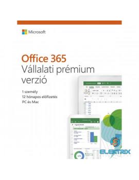 Microsoft Office 365 Vállalati Prémium Elektronikus licenc szoftver