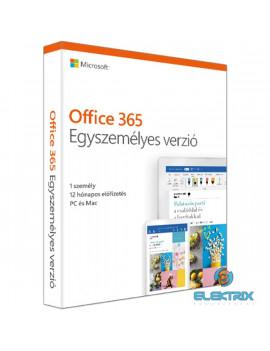 Microsoft Office 365 Personal (Egyszemélyes) P6 ENG 1 Felhasználó 1 év dobozos irodai programcsomag szoftver