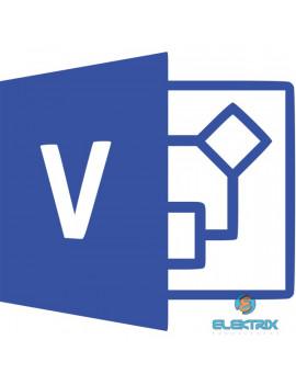 Microsoft Visio Professional 2019 Elektronikus licenc szoftver