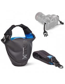 Miggö Agua Quickdraw Stormproof fekete-kék SLR Pro fényképezőgép táska