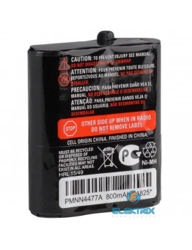 Motorola PMNN4477AR T82//T82 Extreme/T92 walkie talkie 800mAh NIMH akkumulátor