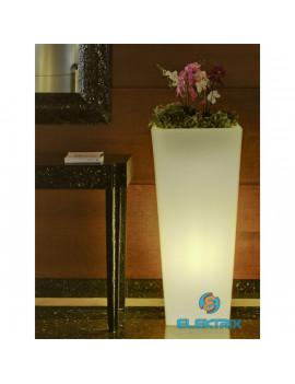 NG Melisa 30 58x30cm fehér LED kaspó