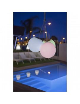 NGA Norai bézs RGB LED dekor lámpa