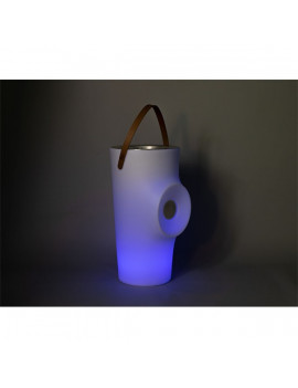 NGA Woody napelemes RGB LED álló italhűtő