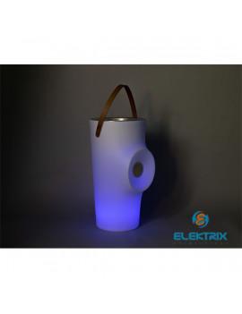 NG Woody napelemes RGB LED álló italhűtő