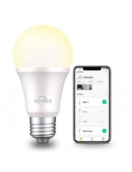 NITEBIRD WB2 Smart WI-FI-s fehér LED izzó E27 / 230V / 8W