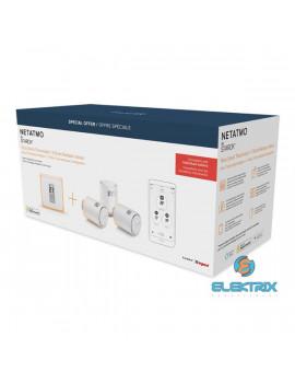 Netatmo Thermostat és Thermostatic Valves/3 darab/okos radiátor szelep csomag