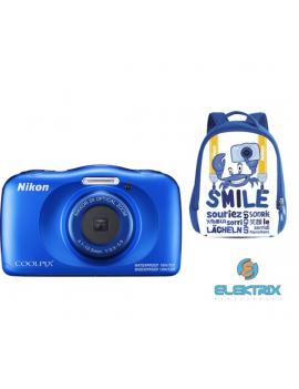 Nikon Coolpix W150 kék digitális fényképezőgép hátizsák kit