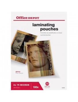 Office Depot A4 2x75mic 100db-os lamináló fólia
