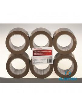 Office Depot 50mmx100m ipari 6db-os barna csomagzáró szalag