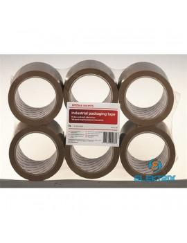 Office Depot 50mmx66m ipari 6db-os barna csomagzáró szalag