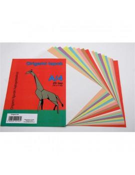 A4 20ív origami lap