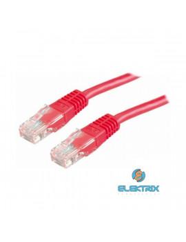 PRC UTP CAT5E 1m piros patch kábel
