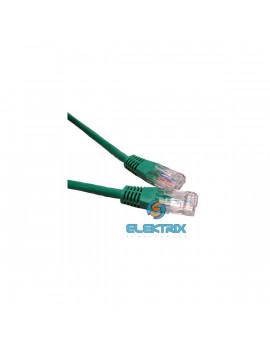 PRC UTP CAT5E 1m zöld patch kábel