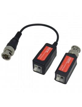 PROVISION-ISR PR-PTR101V-HD8 1 csatornás passzív koax-UTP csavart érpáras 8MP videojel átalakító szett