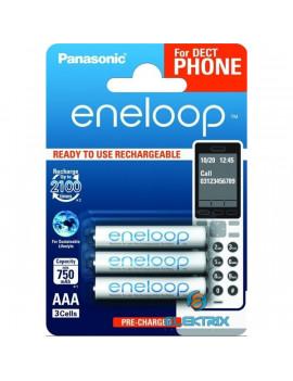 Panasonic Eneloop Phone AAA 750mAh mikro ceruza akkumulátor 3db/bliszter