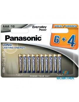 Panasonic Everyday Power alkáli AAA mikro ceruza elem 10db/bliszter