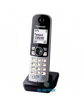 Panasonic KX-TGA681FXB DECT töltővel fekete/ezüst kézibeszélő