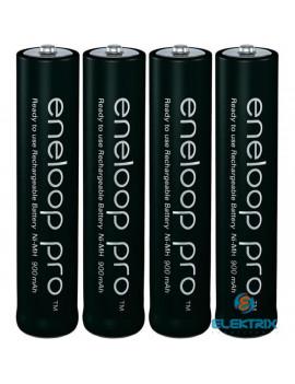 Panasonic Eneloop Pro AAA 930mAh mikro ceruza akkumulátor 4db/bliszter