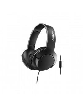 Philips SHL3175BK/00 Bass+ fekete mikrofonos fejhallgató