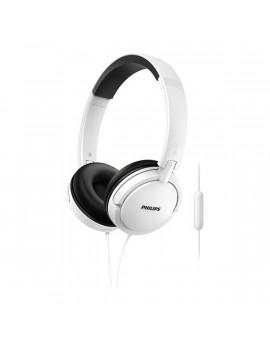 Philips SHL5005WT/00 fehér mikrofonos fejhallgató