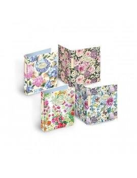 Pigna Nature Flowers A4 4 gyűrűs 40mm gerincszélességű gyűrűskönyv
