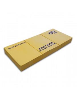 Point 40x50 3db/csomag sárga öntapadós jegyzettömb