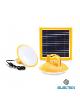 Promate SolarLamp-2 napelem és 5200mAh powerbank-os lámpa + multi USB kábel szett