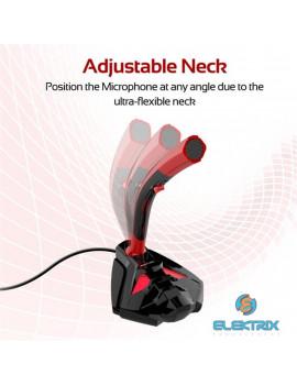 Promate Tweeter-4 univerzális 3,5 mm jack sztereó piros asztali mikrofon