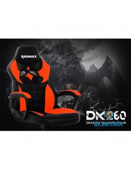 RAIDMAX Drakon DK260 fekete / piros gamer szék
