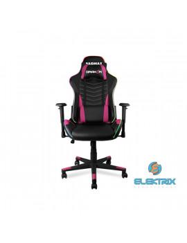 RAIDMAX Drakon DK922 fekete / rózsaszín RGB gamer szék