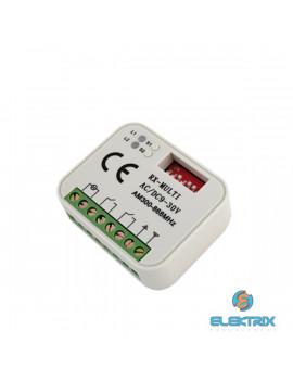 RX MULTI/2 csatorna/300-868MHz/9-30Vac/Vdc/univerzális rádióvevő