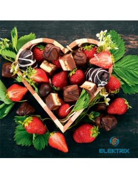 Realsystem 2021-es Chocolate 6096 illatosított lemeznaptár