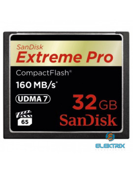 Sandisk 32GB Compact Flash Extreme Pro memória kártya