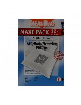 Scanpart 2687441187 S-Bag 12 db porzsák + 2 db szűrő