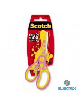 Scotch Kids 1641 13cm-es hegyes színes gyermekolló