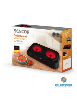 Sencor SCP 2263BK dupla kerámia főzőlap