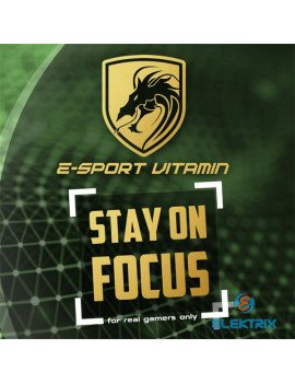 Stay on Focus 30 kapszula E-Sport vitamin