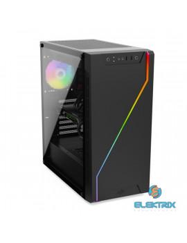 SilentiumPC Armis AR6Q EVO TG ARGB Fekete (Táp nélküli) ablakos E-ATX ház