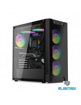 SilentiumPC Armis AR6X EVO TG ARGB Fekete (Táp nélküli) ablakos E-ATX ház