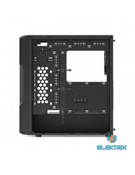 SilentiumPC Regnum RG6V TG Fekete (Táp nélküli) ablakos E-ATX ház