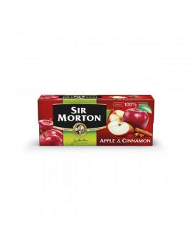 Sir Morton 20x1,75g almás-fahéjas fekete tea keverék