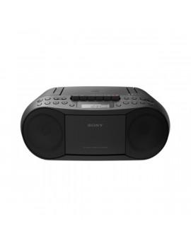 Sony CFDS70B fekete hordozható kazettás CD-s rádió