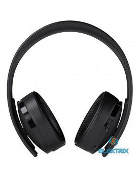 Sony PlayStation 4 Gold fekete vezeték nélküli headset