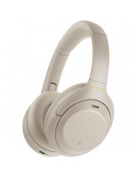 Sony WH1000X M4 Hi-Res Bluetooth/aptX ezüst mikrofonos fejhallgató