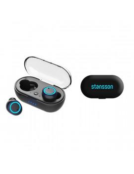 Stansson BH-400-BL True Wireless Bluetooth fekete fülhallgató